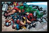 Son of Marvel Reading Chronology Cover: Thor Posters av John Romita Jr.