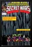 Secret Wars No.4 Cover: Hulk and Captain America Posters par Bob Layton