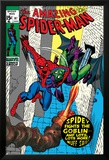 The Amazing Spider-Man No.97 Cover: Spider-Man and Green Goblin Posters by Gil Kane