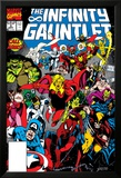 Infinity Gauntlet No.3 Cover: Adam Warlock Poster di George Perez