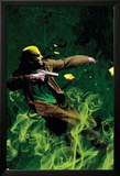 The Immortal Iron Fist: Orson Randall And The Green Mist Of Death No.1 Cover: Iron Fist Posters by Kaare Andrews