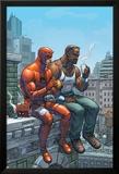 Marvel Team-Up No.9 Cover: Daredevil, Cage and Luke Prints by Scott Kolins