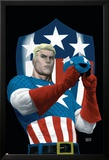 The Marvels Project No.5 Cover: Captain America Prints by Steve MCNiven