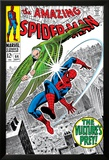 The Amazing Spider-Man No.64 Cover: Vulture and Spider-Man Fighting Poster by Don Heck