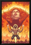 New X-Men No.150 Cover: Phoenix and Wolverine Posters av Phil Jimenez