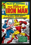 Tales Of Suspense No.58 Cover: Iron Man and Captain America Fighting Poster by Don Heck