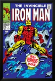 The Invincible Iron Man No.1 Cover: Iron Man Posters by Gene Colan