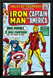 Tales Of Suspense No.59 Cover: Iron Man and Captain America Charging Posters by Don Heck