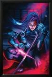 New Exiles No.9 Cover: Psylocke Posters par Alan Davis