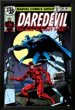 Daredevil No.158 Cover: Daredevil and Death-Stalker Poster by Frank Miller