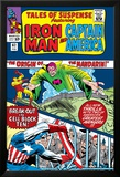 Tales Of Suspense No.62 Cover: Iron Man, Captain America and Mandarin Photo by Don Heck