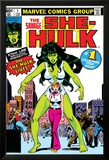 Hulk Family: Green Genes No.1 Cover: She-Hulk, Walters and Jennifer Bilder av John Buscema