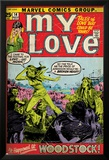 Marvel Comics Retro: My Love Comic Book Cover No.14, Woodstock (aged) Poster
