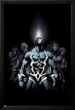 Inhumans 2099 No.1 Cover: Black Bolt and Inhumans Flying Bilder av Pat Lee
