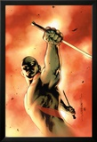 Drax The Destroyer No.3 Cover: Drax The Destroyer Fighting Stampa di Mitchell Breitweiser