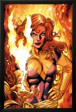 X-Men Forever 2 No.16 Cover: A Flaming Phoenix Affiches par Tom Grummett