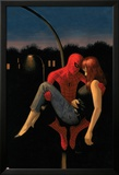 The Amazing Spider-Man No.640 Cover: Spider-Man Holding Mary Jane Watson Posters by Paolo Rivera