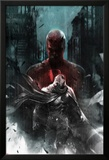 Shadowland: Moon Knight No.1 Cover: Moon Knight and Daredevil Walking Posters by Francesco Mattina