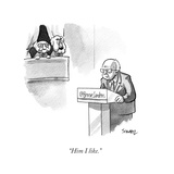 Cartoon Premium Giclee-trykk av Benjamin Schwartz