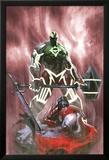 Fear Itself: Hulk vs. Dracula No.3 Cover: Hulk Standing Over a Fallen Dracula Posters par Gabriele DellOtto