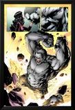 Ultimate Fallout No.3: Panels with Hulk Smashing Prints by Steve Kurth