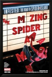 The Amazing Spider-Man No.665 Cover: Spider-Man Falling from the Marquee Posters by Paolo Rivera