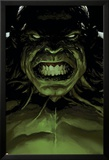 Avengers 16 Cover: Hulk Poster av Leinil Francis Yu