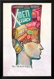 X-Men Legacy 9 Cover: Legion Posters par Mike Del Mundo