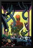 Superior Spider-Man Team-Up 5 Cover: Spider-Man, Vulture, Electro, Sandman, Green Goblin, Kingpin Prints by Paolo Rivera