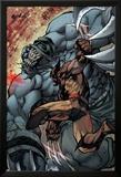 Savage Wolverine 7 Featuring Wolverine, Shikaru the Mute Kunst von Joe Madureira