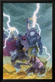 Thor: God of Thunder 9 Cover: Odin, Thor Posters by Esad Ribic