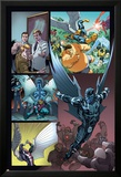 Origins of Marvel Comics: X-Men No.1: Archangel Flying Posters by Tom Raney