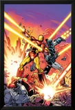 Iron Man 258.4 Cover Featuring Iron Man, War Machine Posters by Dave Ross