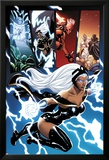 Origins of Marvel Comics: X-Men No.1: Storm Flying Affiches par Terry Dodson