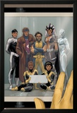 Astonishing X-Men 68 Cover: Wolverine, Gambit, Warbird, Iceman, Northstar, Reyes, Cecilia, Karma Posters by Phil Noto