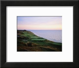 Whistling Straits Golf Club, sunset Poster by Stephen Szurlej