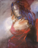 Odalisque II Impressão giclée por Christine Comyn