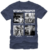 Star Wars- What a Troopers Does Tシャツ