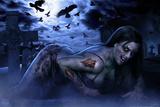 Hot Zombie Posters par Tom Wood