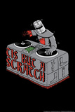 Tis But A Scratch Snorg Tees Poster Print by  Snorg