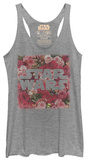 Juniors Tank Top: Star Wars- Rosey Logo レディースタンクトップ