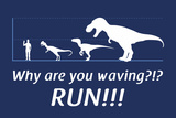 Run! Posters by  Snorg