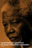 Nelson Mandela Quote iNspire Motivational Poster Láminas