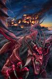 Dragon's Night Affiches par Tom Wood