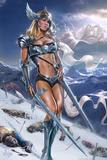 Valkyrie Affiche par Tom Wood