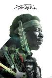 Jimi Hendrix- Double Exposure Posters