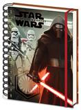 Star Wars EP7 Kylo Ren & Stormtrooopers A5 Notebook Notatbok