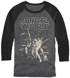 Longsleeve: Star Wars- New Hope Poster Mangas longas