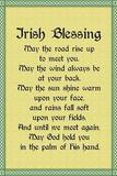Irish Blessing Art Print Poster Kunstdrucke