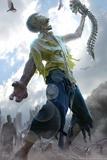 Zombie Scraps Affiches par Tom Wood